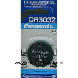 Bateria PANASONIC CR3032